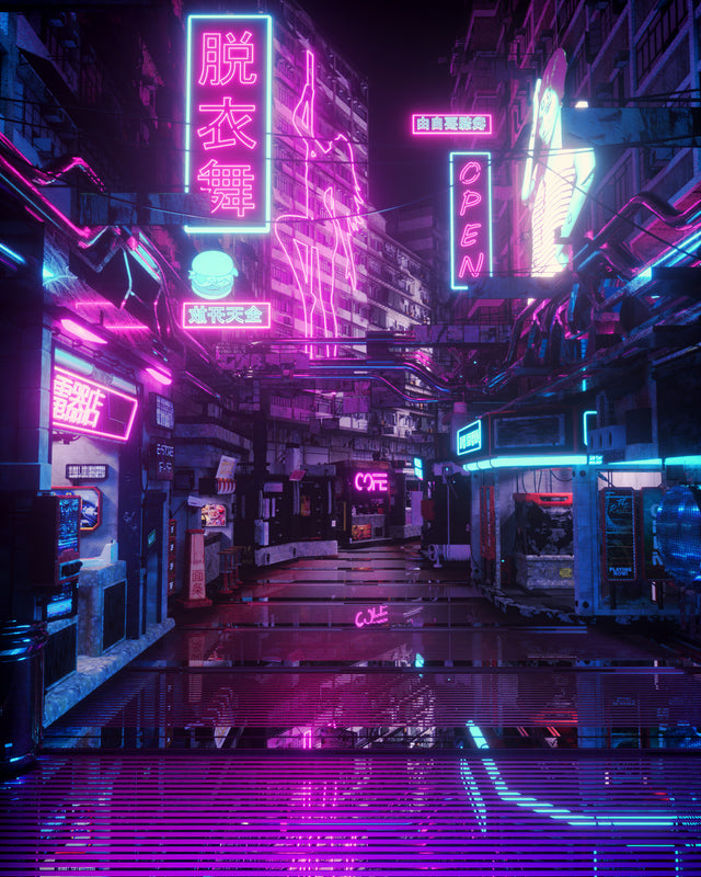 Japanese Cyberpunk Streetwear - Cyberpunk clothing men & female - Neomachi