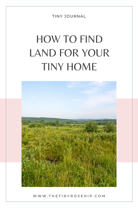 How to find land for your tiny home