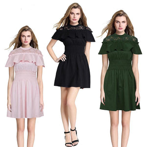 2018 elegant mini dress