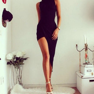 Adriana Sleeveless Bandage Bodycon Maxi Dress
