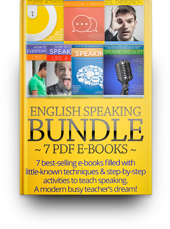 Speaking Bundle: Get All 7 Speaking E-Books and Save 50%