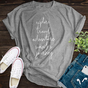 5 Rules Of Life Tee - Pine and Oak