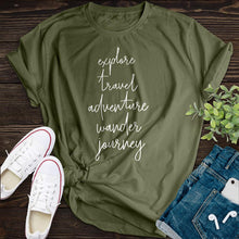 Load image into Gallery viewer, 5 Rules Of Life Tee - Pine and Oak