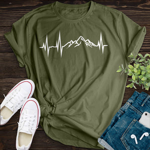 Mountain Heartbeat Tee