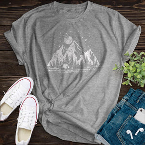 Camper's Paradise Tee - Pine and Oak