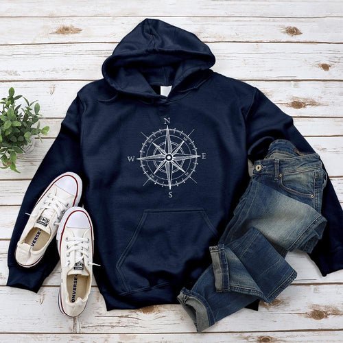 Compass Hoodie - Pine and Oak