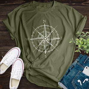 Compass Tee - Pine and Oak