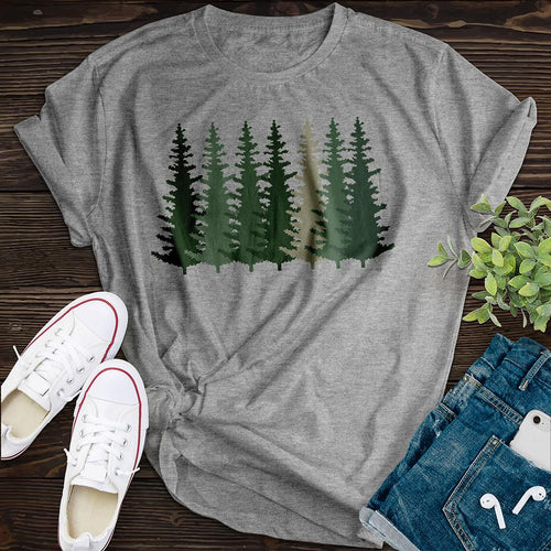 Evergreen Forest Tee - Pine and Oak
