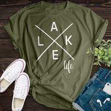 Load image into Gallery viewer, Lake Life Tee - Pine and Oak
