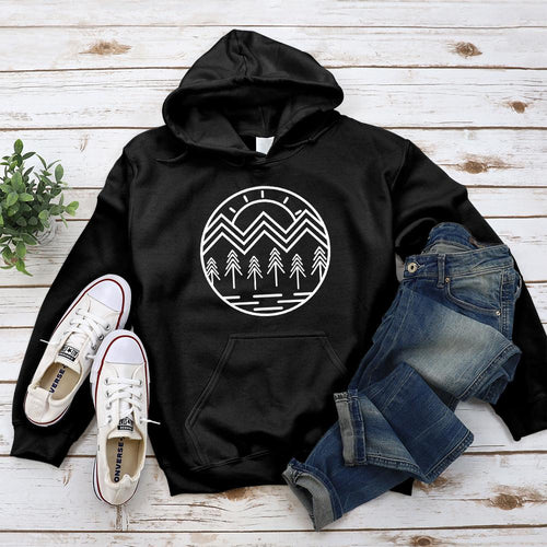 Life's Roots Hoodie - Pine and Oak