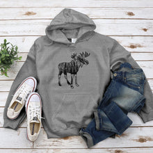 Load image into Gallery viewer, Moose Sighting Hoodie - Pine and Oak