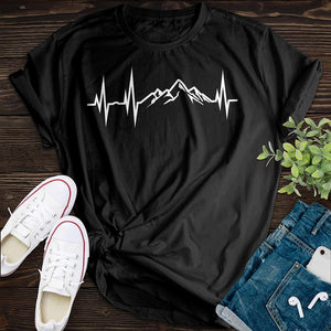 Mountain Heartbeat Tee - Pine and Oak