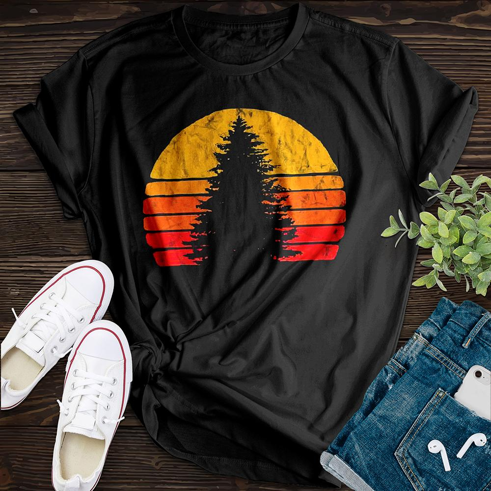 Sunset Rock Tee - Pine and Oak