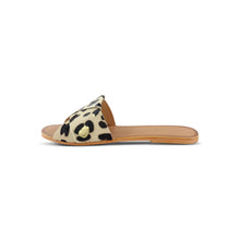 Load image into Gallery viewer, Bora Bora Leopard Metallic Slide