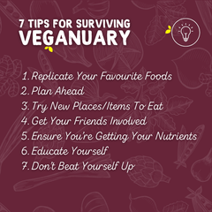 7 Tips for Surviving Veganuary | Root Kitchen UK