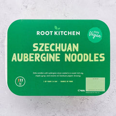 Szechuan Aubergine Noodles - Root Kitchen UK