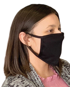50 Pack - Black Face Mask