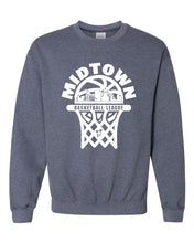 Load image into Gallery viewer, Midtown Basketball Crewneck Sweatshirt