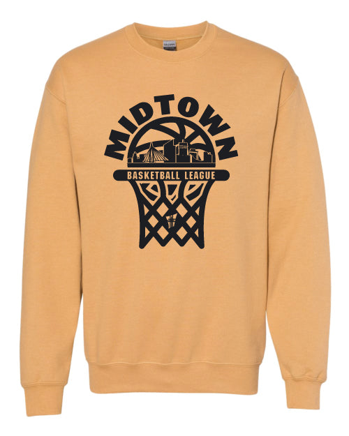 Midtown Basketball Crewneck Sweatshirt