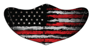 4th of July American Flag Face Mask