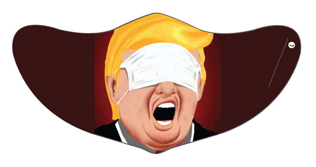 President Trump 2 Face Mask