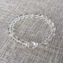 Load image into Gallery viewer, Clarity // Sacred Single Wrist Mala  Bracelet // Clear Quartz