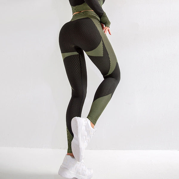 High Waist Stretchy Fitness Leggings