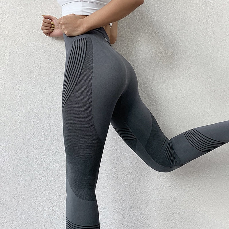 Casual High Waist Push Up Leggings