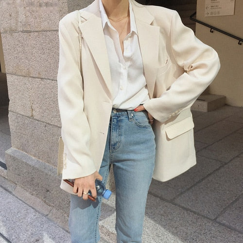 Elegant Chic Loose Jacket