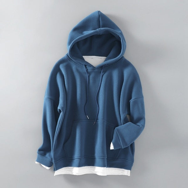 Woolen Warm Pocket Oversize Sweatshirts