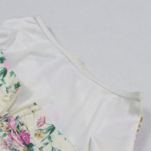 Vintage Sweet  Floral Crop Top