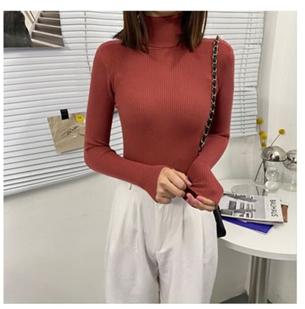 Autumn Slim Knitted Sweater