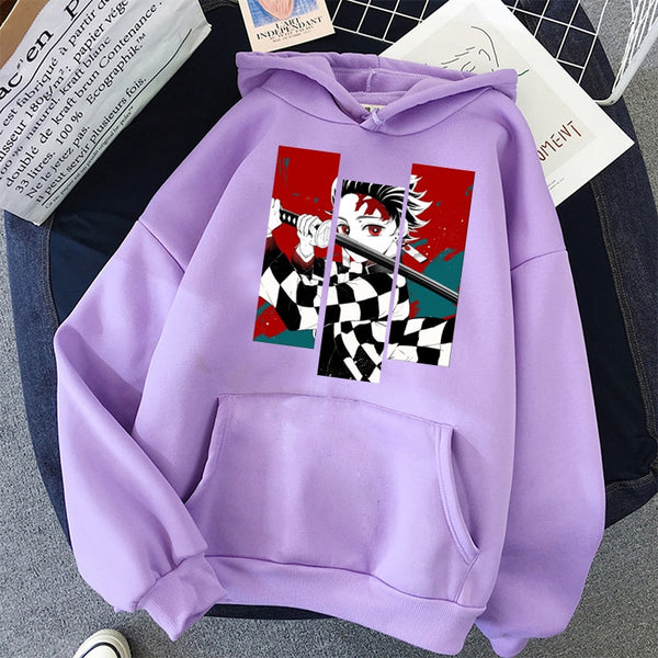 Demon Slayer Anime Tanjiro Nezuko Sweatshirt