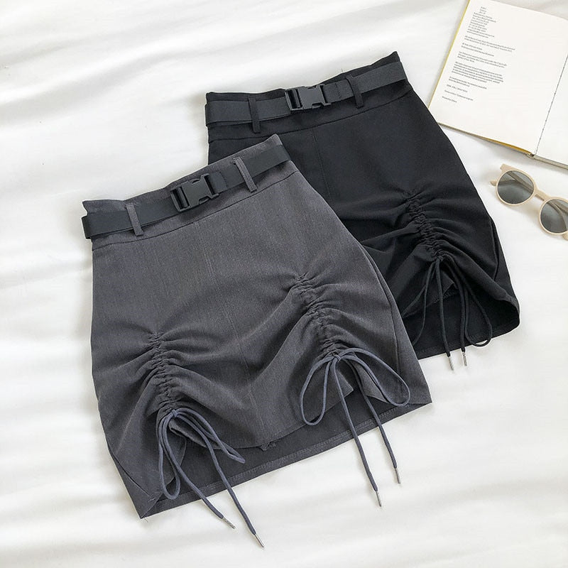 Cute A-Line High Waist Mini Skirts