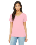 Bella+Canvas - Relaxed Ladies Vneck Tee