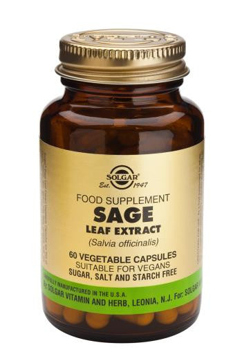 Sage Leaf Extract Vegetable Capsules