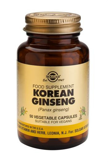 Korean Ginseng Vegetable Capsules