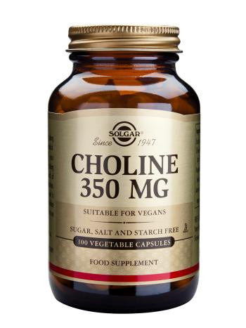 Choline 350 mg Vegetable Capsules