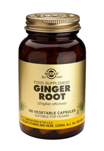 Ginger Root Vegetable Capsules