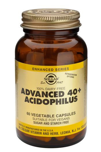Advanced 40+ Acidophilus (100% Dairy Free) Vegetable Capsules