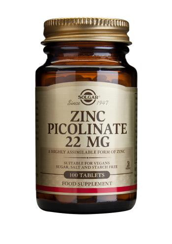 Zinc Picolinate 22 mg Tablets