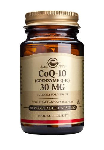 Coenzyme Q-10 30 mg Vegetable Capsules