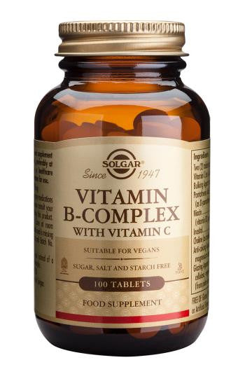 Vitamin B-Complex with Vitamin C Tablets