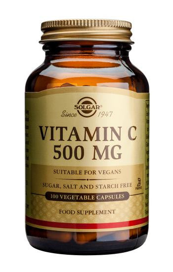 Vitamin C 500 mg Vegetable Capsules