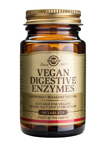 Vegan Digestive Enzymes Tablets