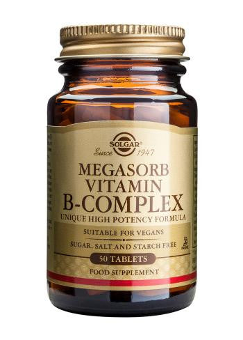 Megasorb Vitamin B-Complex Tablets