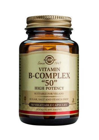 "Formula Vitamin B-Complex ""50"" Vegetable Capsules"