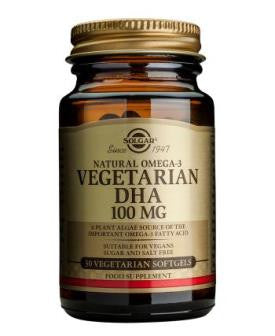 Vegetarian DHA 100 mg Softgels