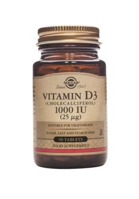 Vitamin D3 1000 IU (25 µg) Tablets