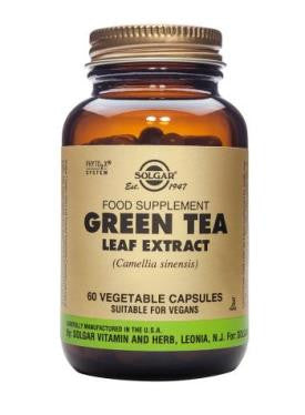 Green Tea Leaf Extract Vegetable Capsules